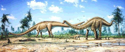 ce nest donc pas un hasard si cest aux etats unis damrique que les plus grands gisements de diplodocus ont t retrouvs dans ce que lon appelle la
